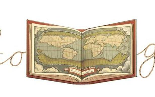 Google Doodle celebrates Abraham Ortelius, inventor of the first modern-day atlas