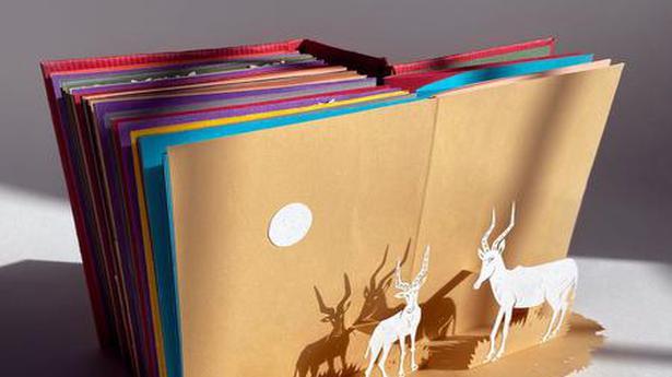 Chennai artist's handmade pop-up book features 30 critically endangered species