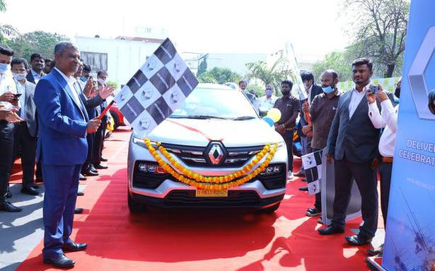 Renault India delivers over 11,000 Kiger SUVs