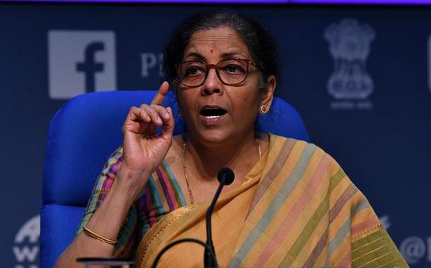 Govt to give cash vouchers to staff in lieu of LTC this year, says Finance Minister Nirmala Sitharaman - The Hindu