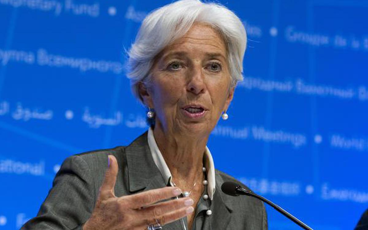 Indian economy on 'very solid track', says Christine Lagarde