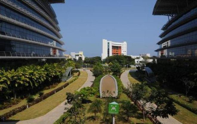 Tata Consultancy Services' (TCS) campus at Siruseri, Chennai. File Photo: