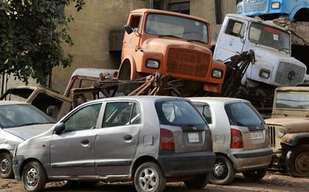 Cabinet note ready for vehicle scrappage policy