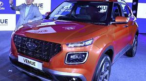 Hyundai Motor unveils 'Venue'