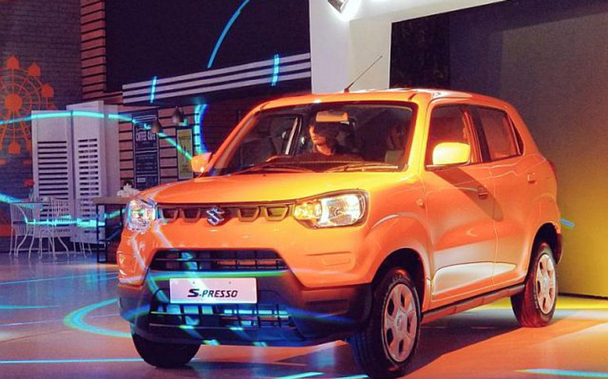 Maruti Suzuki Launches New Entry Level Car S Presso At 3 69 Lakh The Hindu