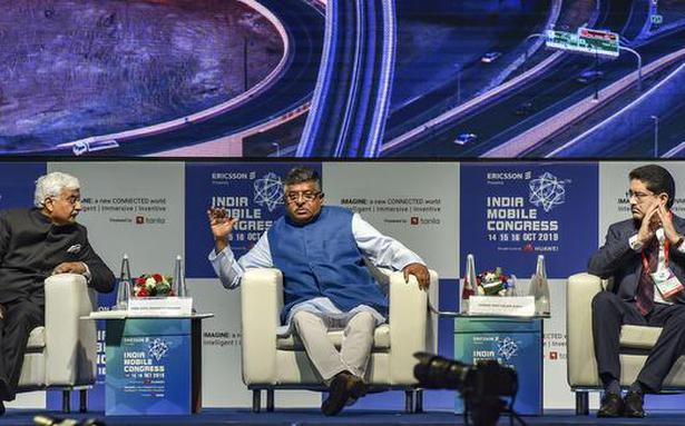 5G spectrum auctions to be held this fiscal: Ravi Shankar Prasad