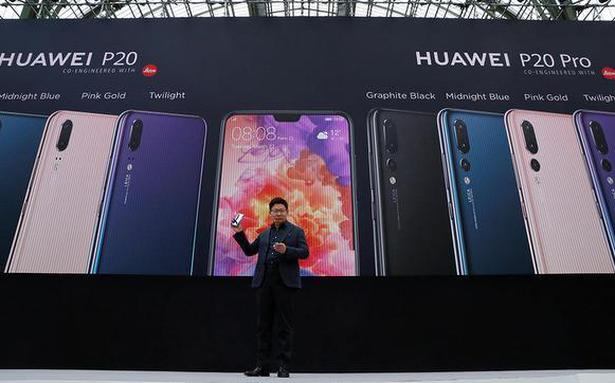 Huawei's P20 takes on Apple, Samsung