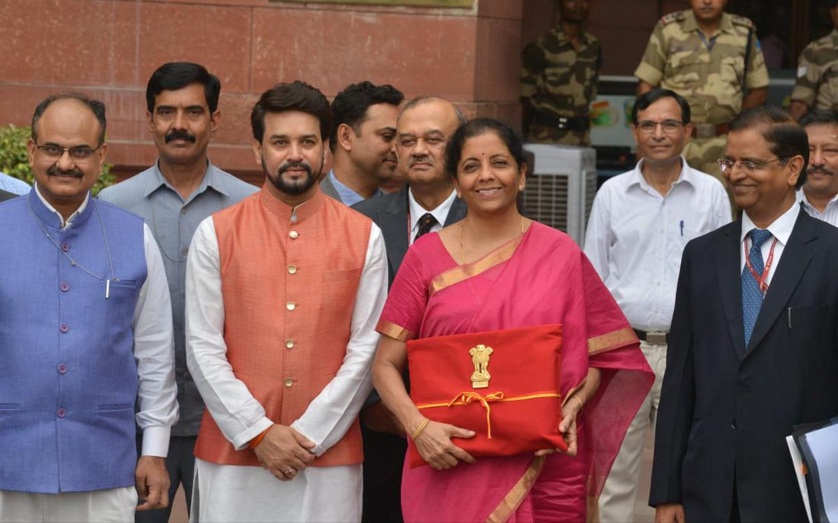 Budget 2019 live updates | ₹70,000 crore recapitalisation for public sector  banks - The Hindu