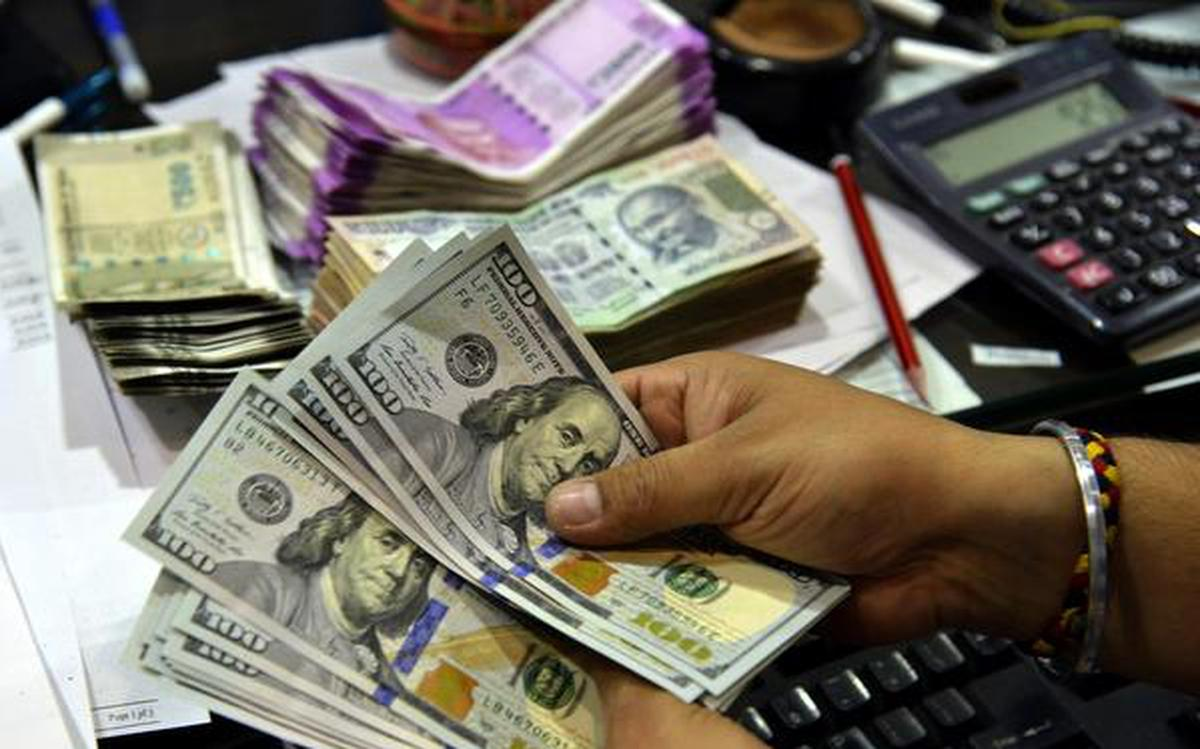 Ru Falls Against Us Dollar In Early