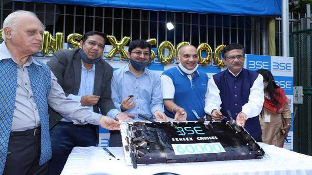 Sensex scales 60,000 as stocks continue to rally