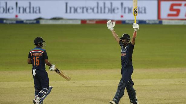 Ind vs SL   Deepak Chahar scripts India's series-sealing win over Sri Lanka