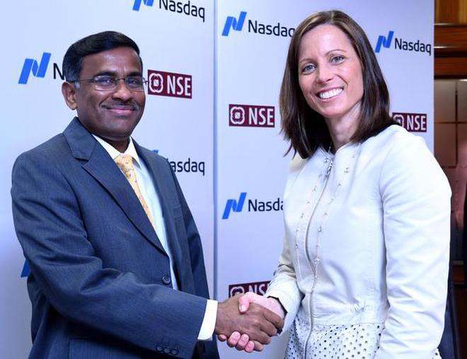 Nse Nasdaq Join Hands For Technology Strategic Partnership The Hindu