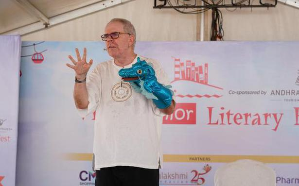Storyteller Roger Jenkins talks about the importance of stories in everyday life
