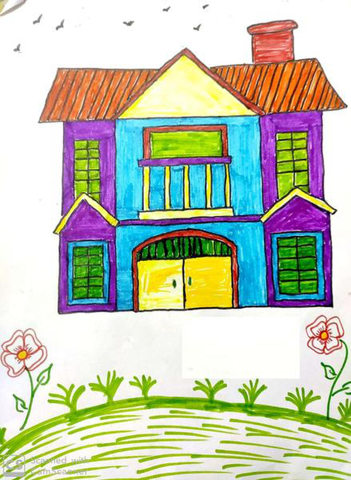 Https Www Thehindu Com Children Drawings From India Article32308871 Ece The Hindu Gallery 1