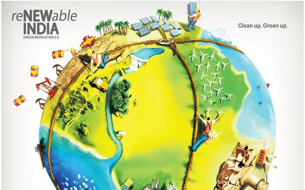 Renewable india green revolution 2 0 the hindu for Solar energy articles for kids