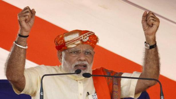 Why does Pak. Army ex-DG want Ahmed Patel as Gujarat CM, asks Modi