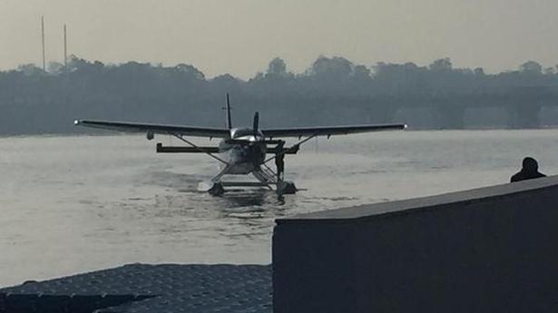 Denied permission for road show, Modi to take sea-plane from Sabarmati