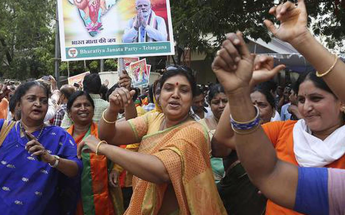 Double delight for BJP in Telangana - The Hindu