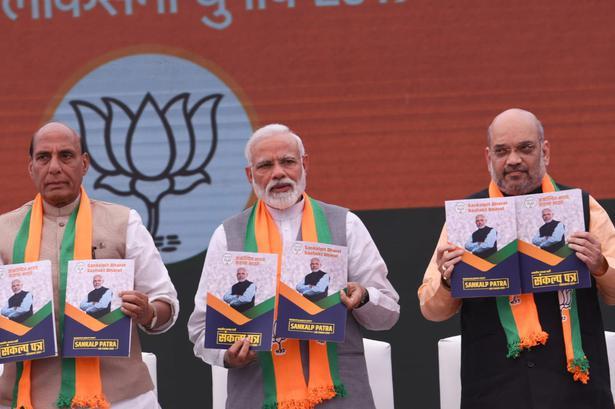 General election 2019   BJP has 'copy-pasted' its 2014 document