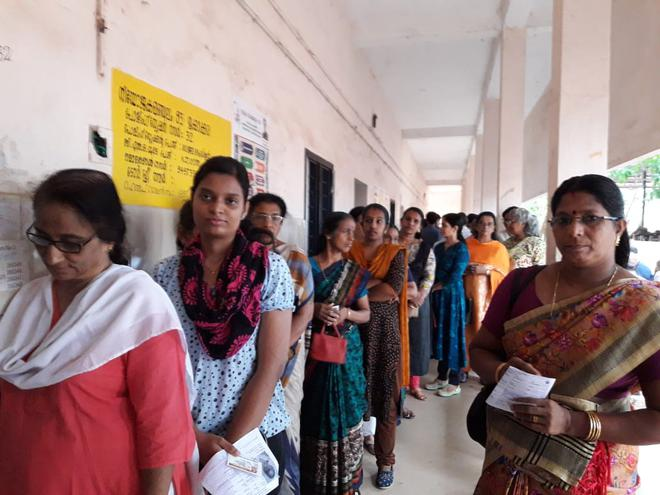 Kerala parliamentary election | 76 82% turnout in 20 seats - The Hindu
