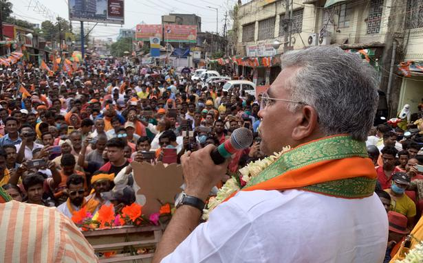 West Bengal Assembly elections | EC notice to BJP leader Dilip Ghosh over Sitalkuchi comments