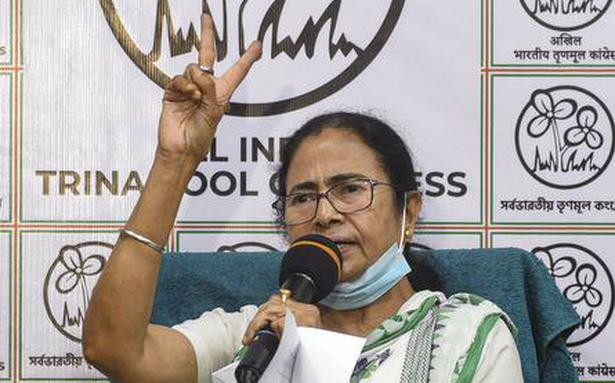 Mamata Banerjee asks whether election dates were announced at the instructions of Narendra Modi and Amit Shah