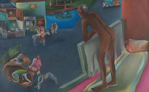 Bhupen Khakhar's gay love painting sets new record at UK auction