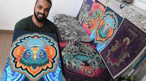 Catch visual artist Gaurav Basu aka Acid Toad at Comic Con