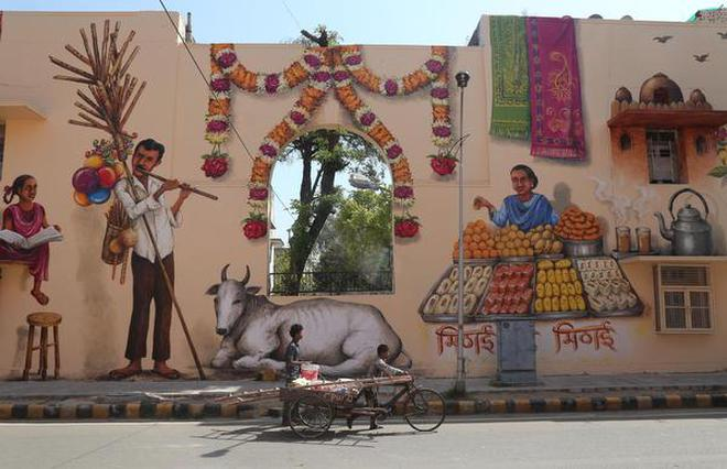How Delhi's Lodhi Colony became India's first public art