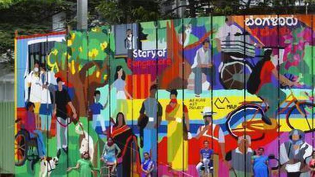 Aravani Art Project brings alive the 'Story of Bangalore' through art