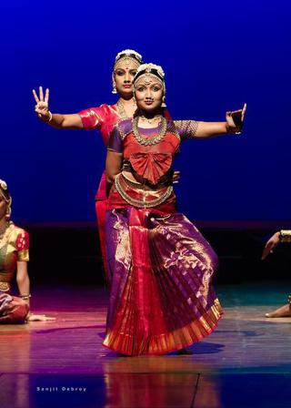 A Kuchipudi performance that explores the concept of unity