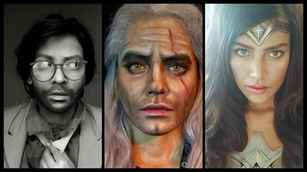 Medha Srivastava's looks as The Professor from 'Money Heist', Geralt of Rivia from 'The Witcher', and Wonder Woman