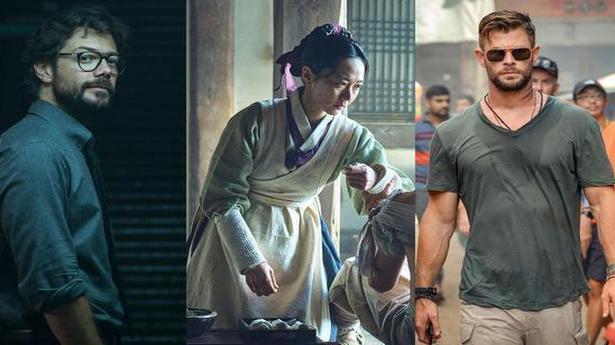 New April releases on Netflix: 'Money Heist' season 4, Chris Hemsworth's 'Extraction', and more