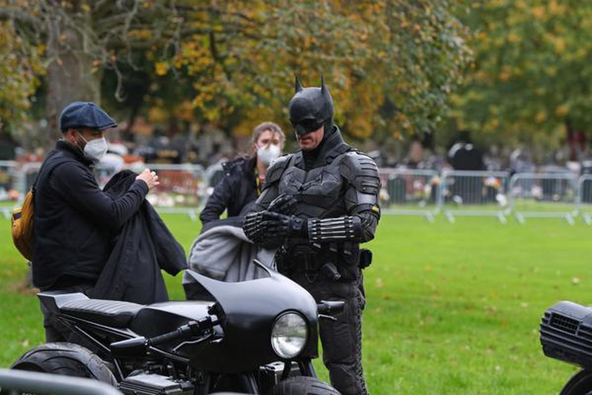 On 'The Batman' set in Liverpool