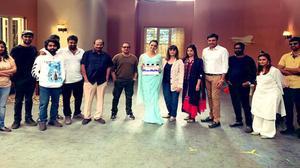 Shoot of Jayalalithaa biopic 'Thalaivi' begins