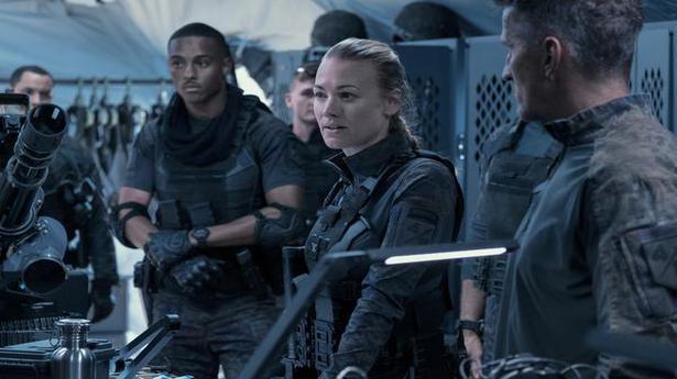 Yvonne Strahovski on 'The Tomorrow War': 'A big fan of alien movies'