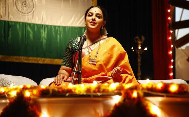Nithya Menen as singer in 'Gamanam'