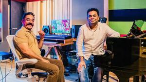 A.R. Rahman tweets photo with Kamal Haasan, excites fans