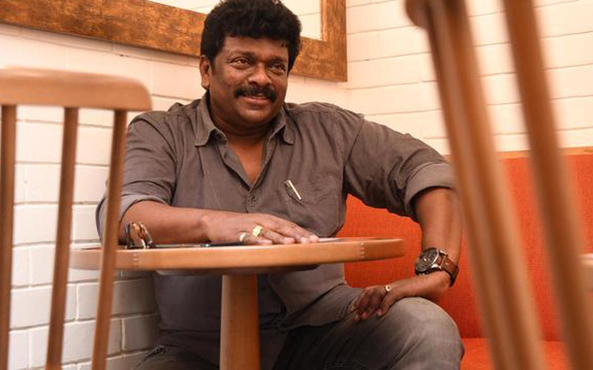 Parthiban chats about his new film Oththa Seruppu Size 7 - The Hindu