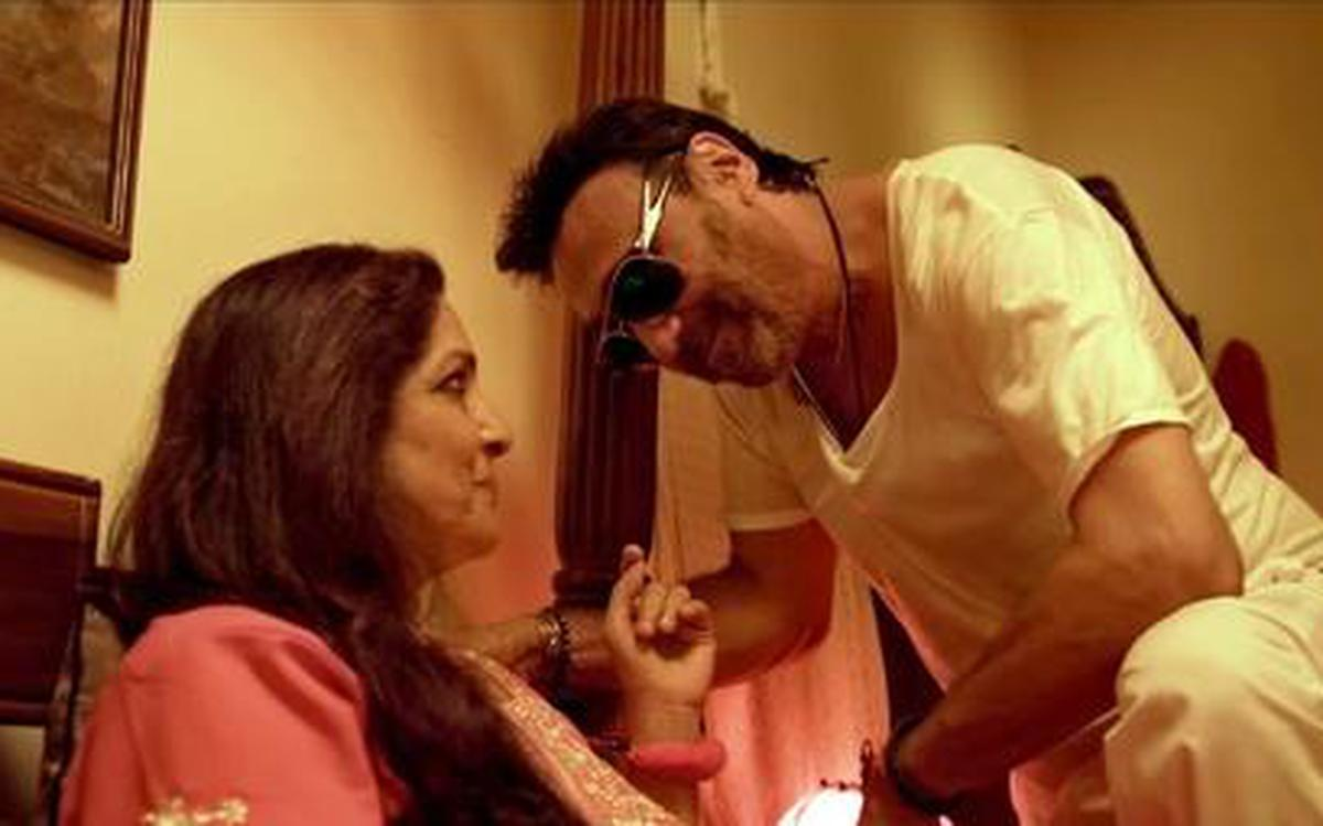 Watch Jackie Shroff and Neena Gupta scratch an itch in this viral short  film - The Hindu