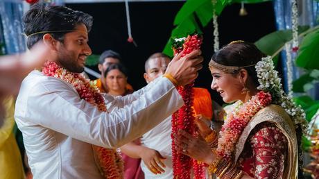 Chaitanya-Samantha wedding done, Wishes pour in