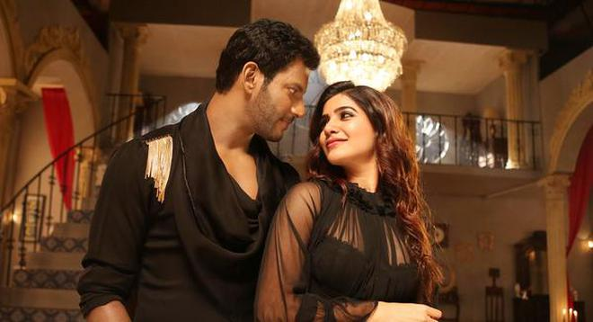 Samantha helped Vishal to regain market