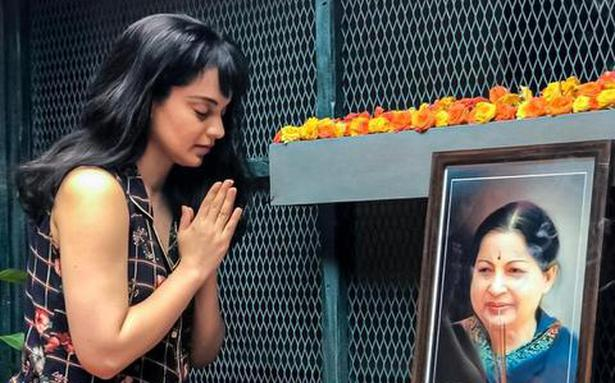 Kangana Ranaut pays homage to Jayalalithaa on latter's death anniversary