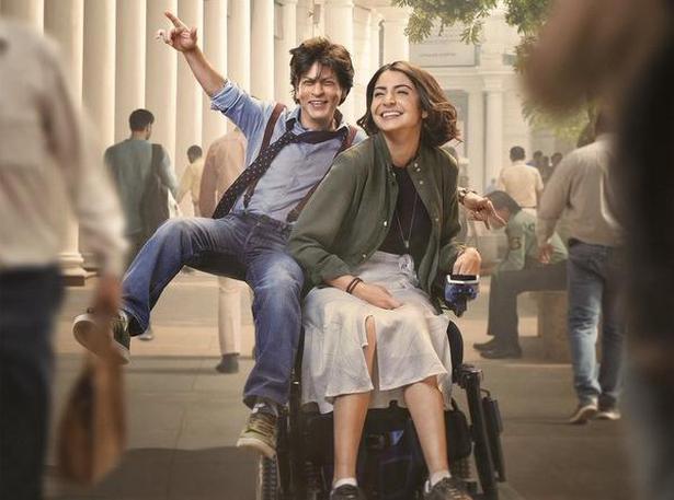 Shah Rukh Khan and Anushka Sharma in a poster from 'Zero'. Photo courtesy: Twitter/@iamsrk