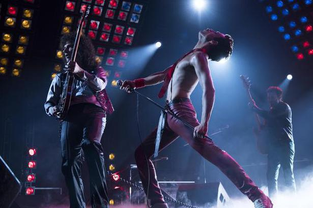 """""""Bohemian Rhapsody"""" bested early favorite """"A Star Is Born,"""" box office superhero hit """"Black Panther,"""" Spike Lee's """"BlacKkKlansman,"""" and """"If Beale Street Could Talk"""" at the Golden Globes."""
