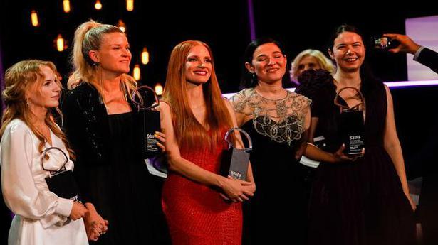 Jessica Chastain, Flora Ofelia Hofmann Lindahl share top acting prize at San Sebastian Film Festival