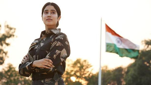 Hc Refuses To Stay Streaming Of Netflix Movie Gunjan Saxena The Kargil Girl The Hindu