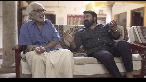 When Mohanlal met Artist Namboodiri
