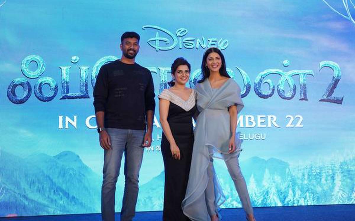 Tamil Actors Share Their Frozen 2 Experience The Hindu