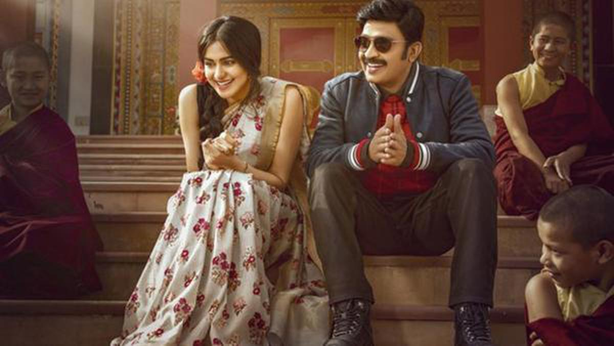 Adah Sharma and Dr Rajashekhar in a still from Kalki